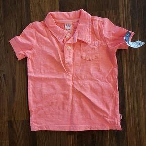 Toddler boy polo shirt